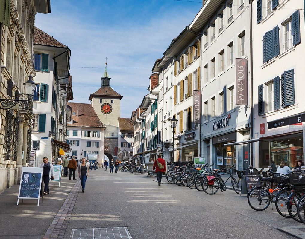 Einkaufen in Solothurn,