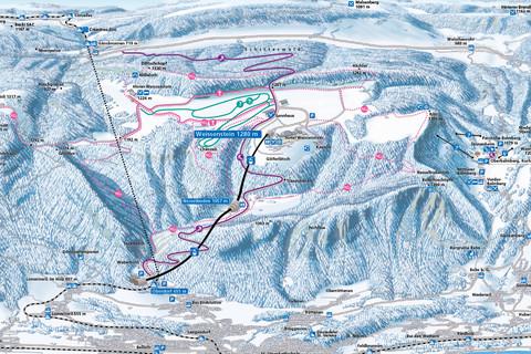 Bild Winterkarte Weissenstein