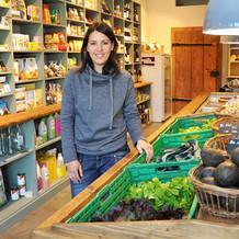 Botschafterin nachhaltiges Solothurn, Claudia Zimmermann, Bioladen Küttigkofen