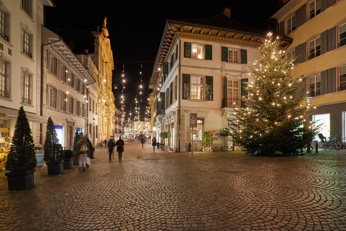 Weihnachten Solothurn, Weihnachtsbeleuchtung