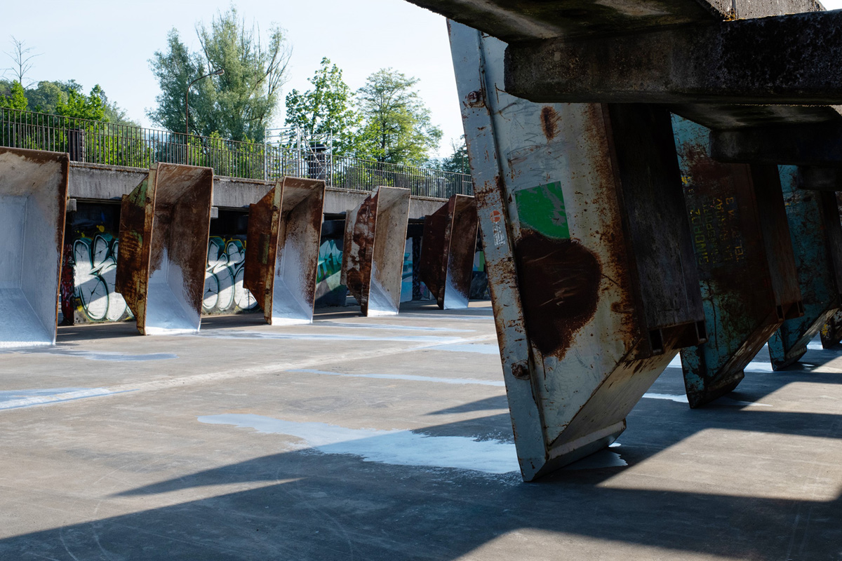 Kunstausstellung Arpeggio, Attisholz Areal