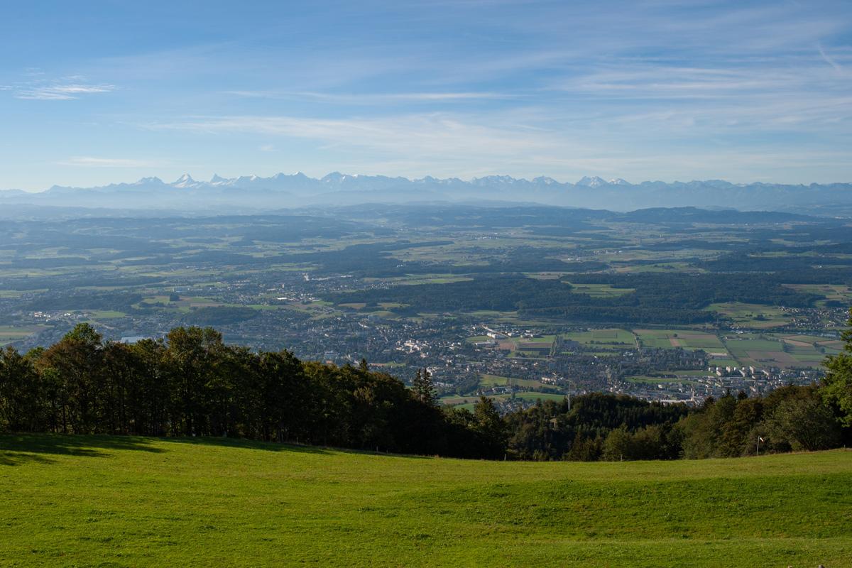 Aussicht Weissenstein