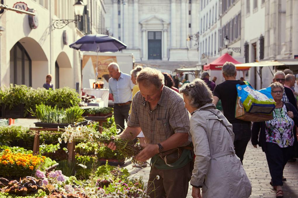 Samstagmarkt in Solothurn