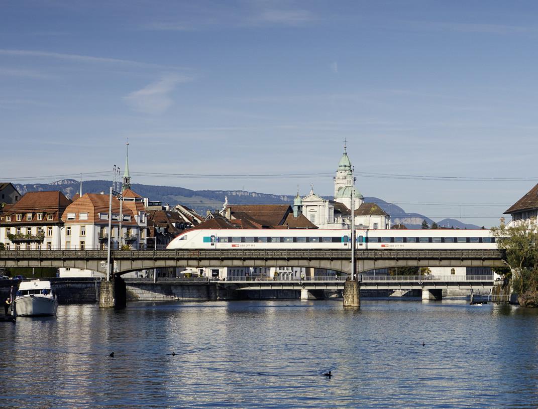 Stadt Solothurn, Krummturm, Zug