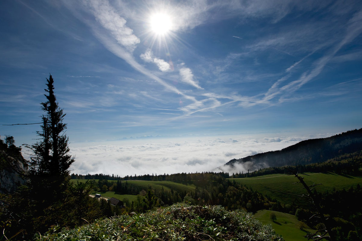 Weissenstein, Nebelmeer