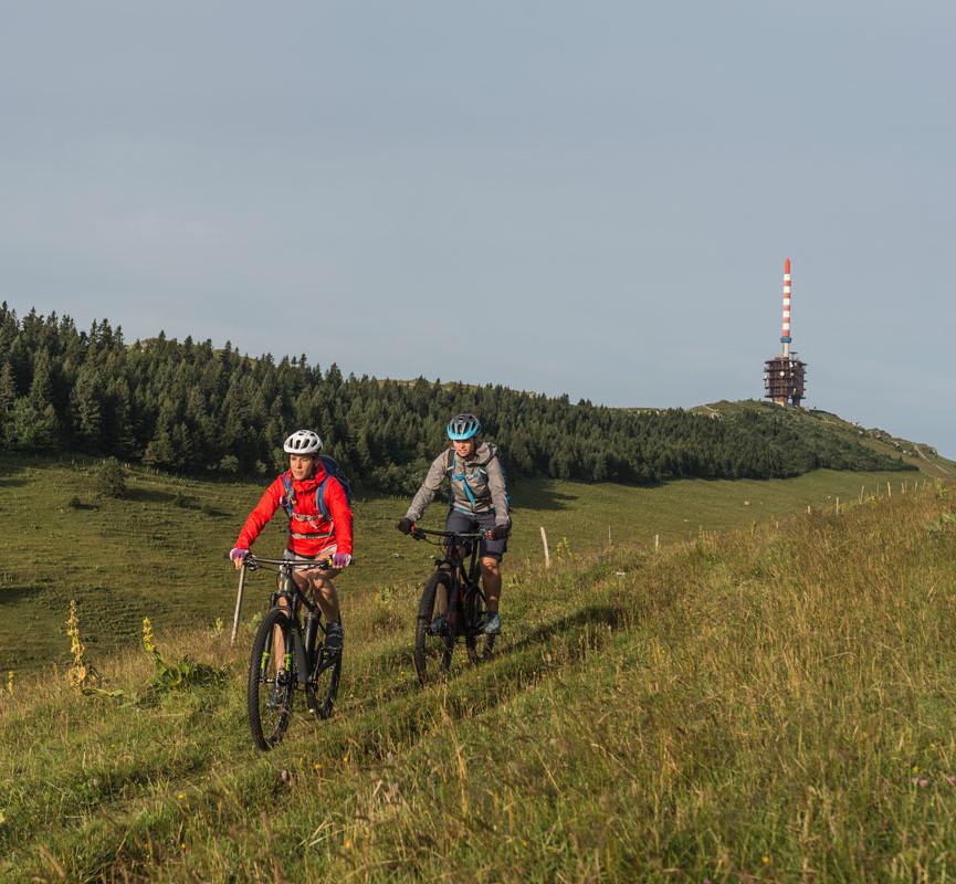 Chasseral Weissenstein Bike Strecke Nr. 44