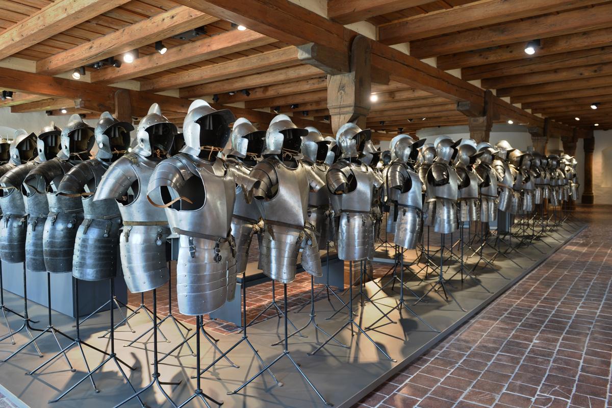 Museum Altes Zeughaus, Solothurn, Rüstungen