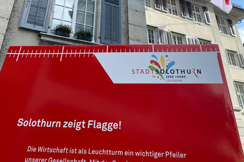 Solothurn zeigt Flagge!