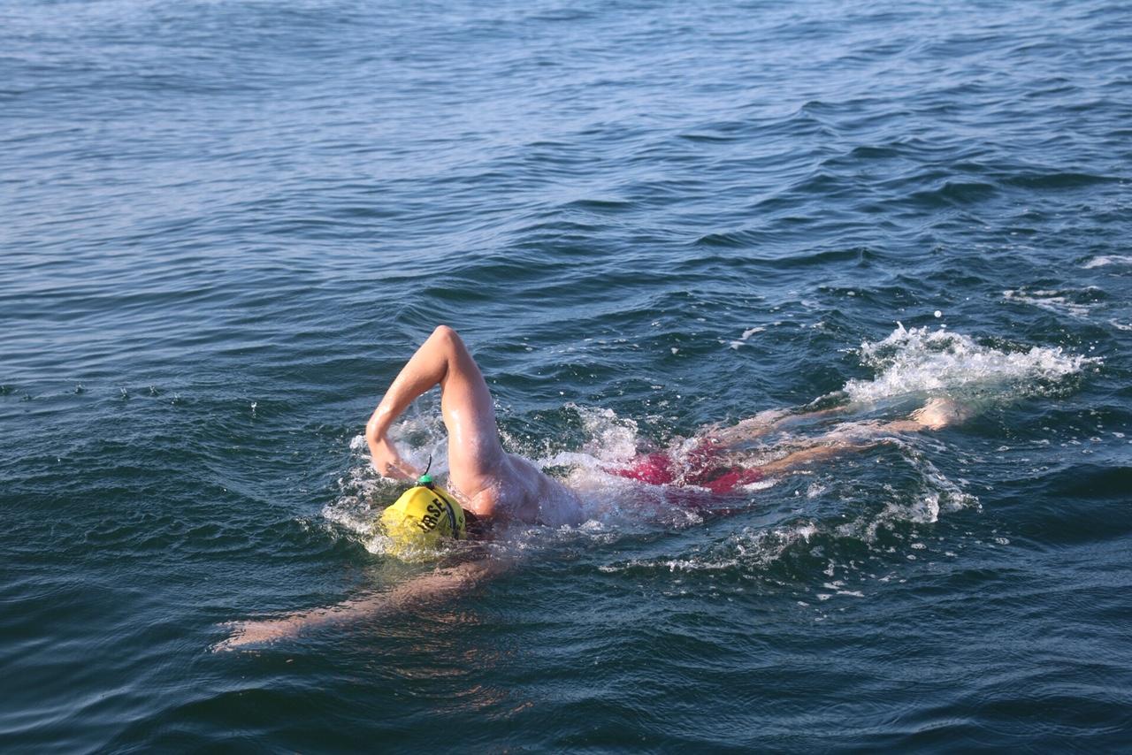 Romano Mombelli, Open-Water-Schwimmer, Botschafter des Wassers - © Hanspeter Bärtschi