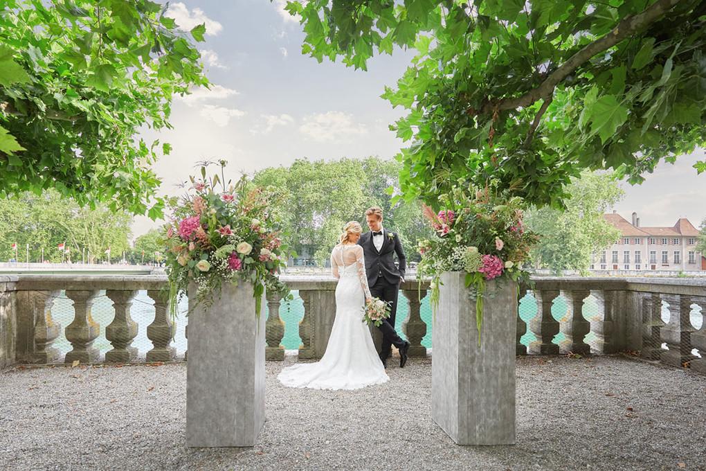 Hochzeit, Trauung im Palais Besenval Solothurn