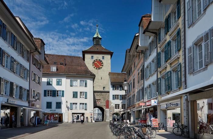 Medienbild Einkaufen, Shopping Solothurn