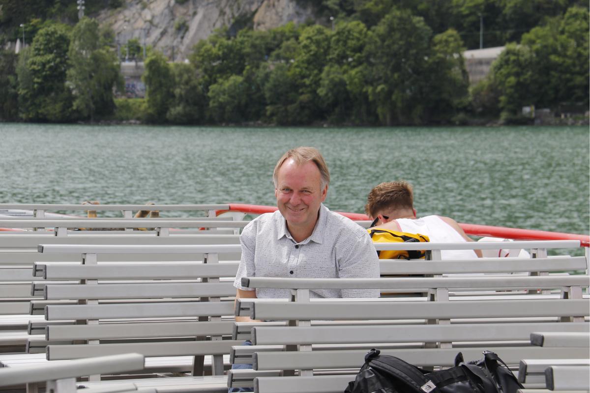 Thomas Mühlethaler, Geschäftsführer der Bielersee-Schifffahrts-Gesellschaft, ist Botschafter der Ausflüge - © Thomas Mühlethaler